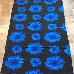Blue flowered Tapestry